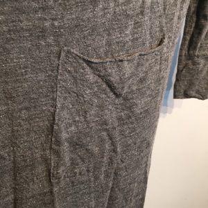 Zara Sweaters - ZARA Long Grey Lightweight Duster Cardigan